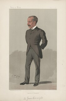 Sir James Sivewright ('Men of the Day. No. 566.'), by Sir Leslie Ward - NPG D44649