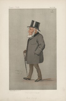 Henry Thring, 1st Baron Thring ('Statesmen. No. 614.'), by Sir Leslie Ward - NPG D44653