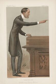 Edward Carson, 1st Baron Carson ('Statesmen. No. 625.'), by Liborio Prosperi ('Lib') - NPG D44672