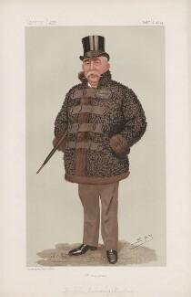 John Cumming Macdona ('Statesmen. No. 631.'), by Sir Leslie Ward - NPG D44685