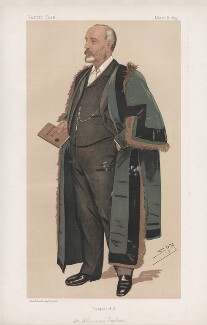 Sir William Purdie Treloar, Bt ('Men of the Day. No. 579.'), by Sir Leslie Ward - NPG D44689