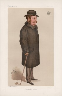 William Philip Molyneux, 4th Earl of Sefton ('Statesmen. No. 635.'), by Liborio Prosperi ('Lib') - NPG D44697