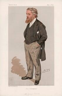 Sir George Newnes, 1st Bt ('Statesmen. No. 636.'), by Sir Leslie Ward - NPG D44701