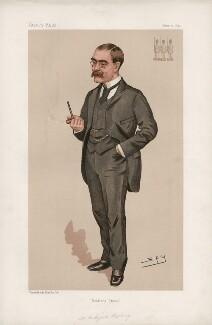 (Joseph) Rudyard Kipling ('Men of the Day. No. 589.'), by Sir Leslie Ward - NPG D44702