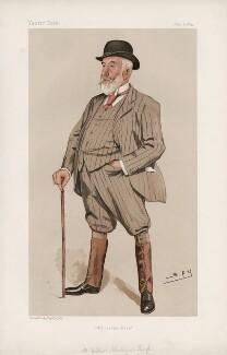William Montagu Gent-Tharp ('Men of the Day. No. 591.'), by Sir Leslie Ward - NPG D44704