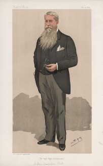 Henry Brougham Loch, 1st Baron Loch ('Men of the Day. No. 593.'), by Sir Leslie Ward - NPG D44706