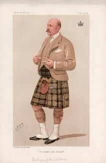 Gavin Campbell, 1st Marquess of Breadalbane ('Statesmen. No. 643.'), by Sir Leslie Ward - NPG D44716