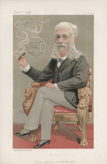 (Mayer) Alphonse James Rothschild ('Men of the Day. No. 597.'), by Jean Baptiste Guth ('GUTH') - NPG D44717