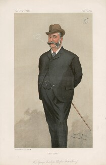 Sir George Carlyon Hughes Armstrong, 1st Bt ('Men of the Day. No. 602.'), by Sir Leslie Ward - NPG D44724