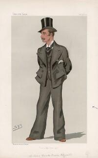Sir Robert Uniacke-Penrose-Fitzgerald, 1st Baronet of Corkbeg and Lisquinlan ('Statesmen. No. 648.'), by Sir Leslie Ward - NPG D44740