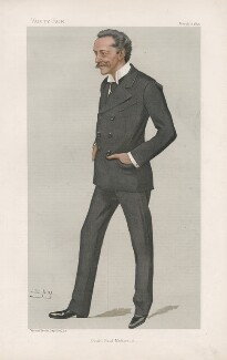 Count Paul Wolff Metternich zur Gracht ('Men of the Day. No. 649.'), by Sir Leslie Ward - NPG D44741