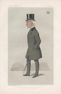 Robert Adam Philips Haldane Haldane-Duncan, 3rd Earl of Camperdown ('Statesmen. No. 649.'), by Sir Leslie Ward - NPG D44742