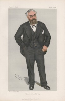 Frederick York Powell ('Men of the Day. No. 615.'), by Sir Leslie Ward - NPG D44743