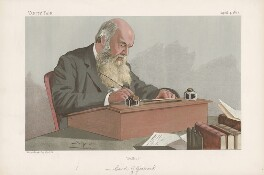 Edward Caird ('Men of the Day. No. 617.'), by Sir Leslie Ward - NPG D44745