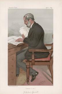 Richard Garnett ('Men of the Day. No. 1895.'), by Sir Leslie Ward - NPG D44746