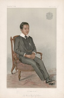 Vajiravudh, King of Siam ('Princes. No. 16.'), by Sir Leslie Ward - NPG D44748