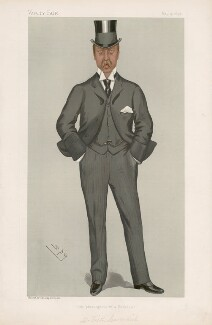 Victor Christian William Cavendish, 9th Duke of Devonshire ('Statesmen. No. 651.'), by Sir Leslie Ward - NPG D44750