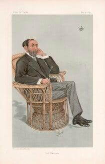 Edward Littleton, 3rd Viscount Hatherton ('Statesmen. No. 652.'), by Harold Wright ('Stuff') - NPG D44752