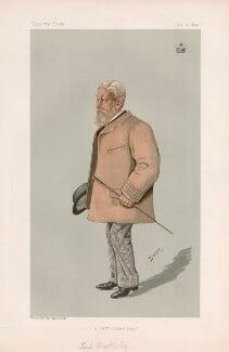 Arthur Wrottesley, 3rd Baron Wrottesley ('Statesmen. No. 654.'), by Harold Wright ('Stuff') - NPG D44756