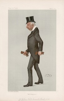 William Wither Bramston Beach ('Statesmen. No. 655.'), by Sir Leslie Ward - NPG D44757