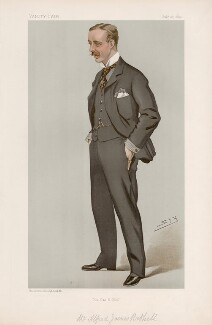 Alfred James Bethell ('Men of the Day. No. 625.'), by Sir Leslie Ward - NPG D44761