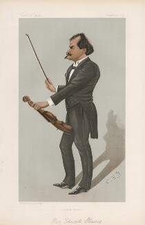 Eduard Strauss ('Men of the Day. No. 629.'), by Eardley Norton - NPG D44766