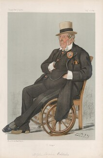 John Loraine Baldwin ('Men of the Day. No. 630.'), by Sir Leslie Ward - NPG D44767