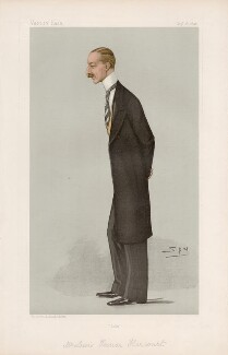 Lewis Harcourt, 1st Viscount Harcourt ('Statesmen. No. 657.'), by Sir Leslie Ward - NPG D44770