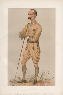 Frederick Lugard, 1st Baron Lugard ('Men of the Day. No. 639.'), by Sir Leslie Ward - NPG D44782
