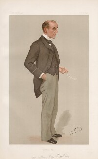Sir Anthony Hope (Anthony Hope Hawkins ('Men of the Day. No. 640.'), by Sir Leslie Ward - NPG D44783