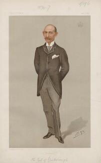 Charles Alfred Worsley Pelham, 4th Earl of Yarborough ('Statesmen. No. 661.'), by Sir Leslie Ward - NPG D44784