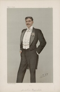 Arthur Bourchier ('Men of the Day. No. 644.'), by Sir Leslie Ward - NPG D44793
