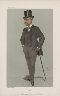 Sir Laurence James Oliphant 9th of Condie ('Men of the Day. No. 648.'), by Sir Leslie Ward - NPG D44799