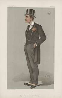 Thomas Henry Thynne, 5th Marquess of Bath ('Statesmen. No. 668.'), by Sir Leslie Ward - NPG D44800