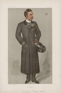 Richard George Penn Curzon, 4th Earl Howe ('Statesmen. No. 672.'), by Sir Leslie Ward - NPG D44806