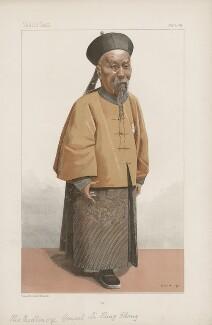 Li Hongzhang (Li Hung Chang) ('Men of the Day. No. 655.'), by Jean Baptiste Guth ('GUTH') - NPG D44816