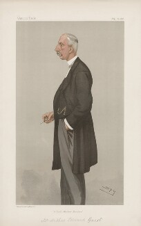 Arthur Edward Guest ('Men of the Day. No. 657.'), by Sir Leslie Ward - NPG D44818