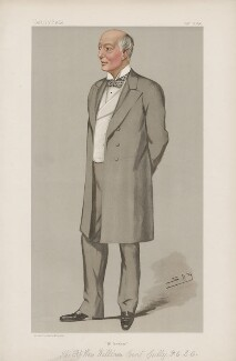 William Court Gully, 1st Viscount Selby ('Statesmen. No. 677.'), by Sir Leslie Ward - NPG D44821