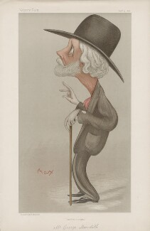 George Meredith ('Men of the Day. No. 659.'), by Sir Max Beerbohm - NPG D44822