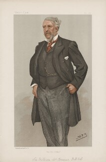 Sir William MacCormac, 1st Bt ('Men of the Day. No. 660.'), by Sir Leslie Ward - NPG D44823