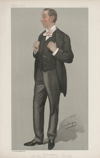 Charles Frederick Carlos Clarke ('Men of the Day. No. 664.'), by Sir Leslie Ward - NPG D44830