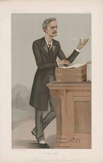 Gerald William Balfour, 2nd Earl of Balfour ('Statesmen. No. 682.'), by Sir Leslie Ward - NPG D44833