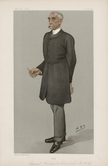 Sir Frederick Marshall ('Men of the Day. No. 666.'), by Sir Leslie Ward - NPG D44835