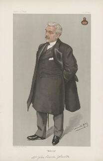 John Lawson Johnston ('Men of the Day. No. 673.'), by Sir Leslie Ward - NPG D44843