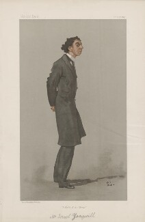 Israel Zangwill ('Men of the Day. No. 674.'), by Walter Sickert - NPG D44844