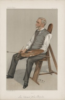 Sir Edward John Poynter, 1st Bt ('Men of the Day. No. 675.'), by Sir Leslie Ward - NPG D44845