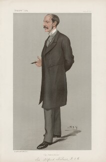 Alfred Milner, Viscount Milner ('Men of the Day. No. 680.'), by Sir Leslie Ward - NPG D44851