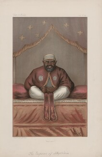 Menelik II, Emperor of Abyssinia ('Sovereigns. No. 21.'), by 'Glick' - NPG D44866