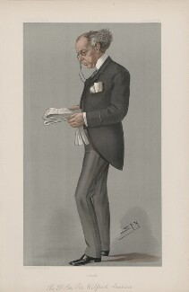 Wilfrid Laurier ('Men of the Day. No. 688.'), by Sir Leslie Ward - NPG D44869