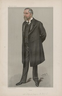 Sir Alfred Cooper ('Men of the Day. No. 699.'), by Sir Leslie Ward - NPG D44888